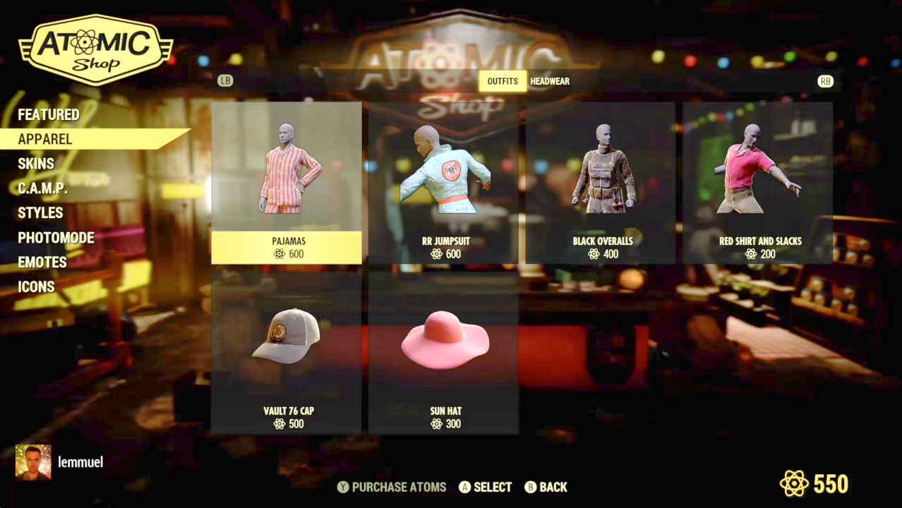 Fallout 76 microtransactions use Atoms and lets you buy skins, masks