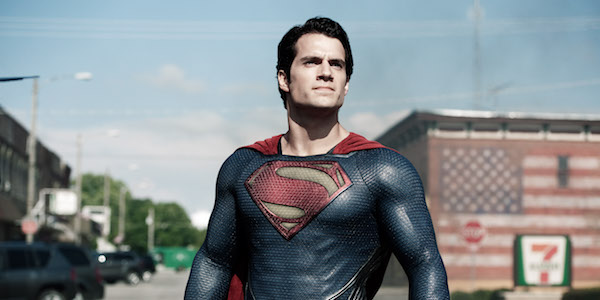 Superman in Smallville during Man of Steel