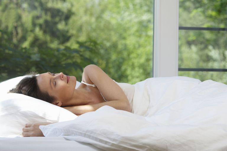 best memory foam mattresses woman sleeping