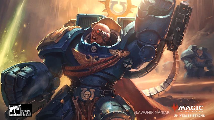 magic the gathering warhammer