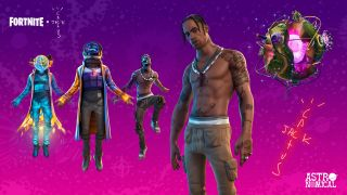 watch the Fortnite Travis Scott event online