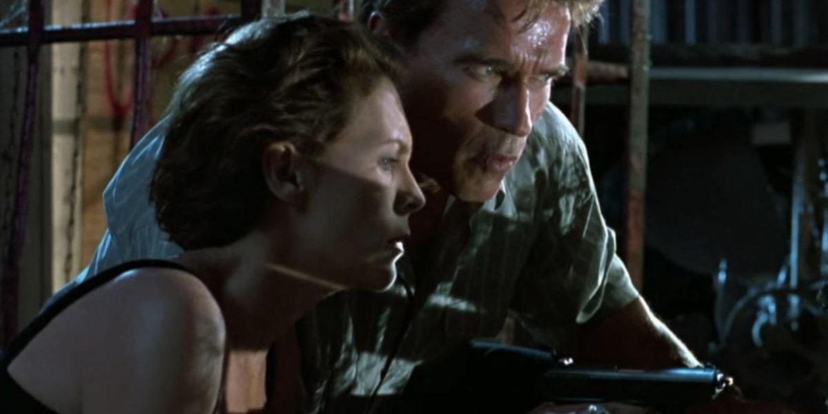 True Lies (1994) Jamie Lee Curtis and Arnold Schwarzenegger