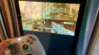 Doom en xCloud en un frigorífico Samsung