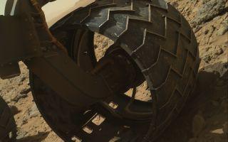 Mars Rover Curiosity's Wheel Wear