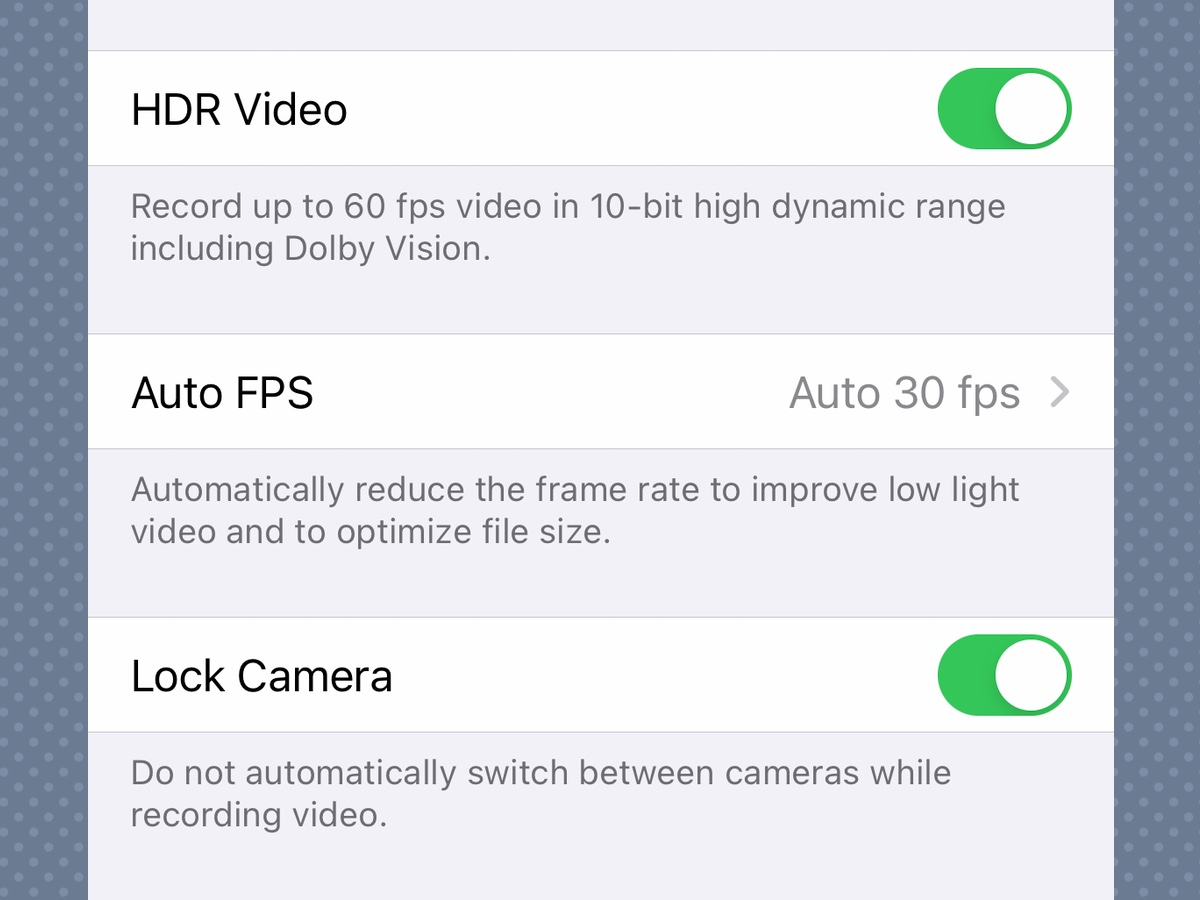 iPhone 12 feature can enable video HDR
