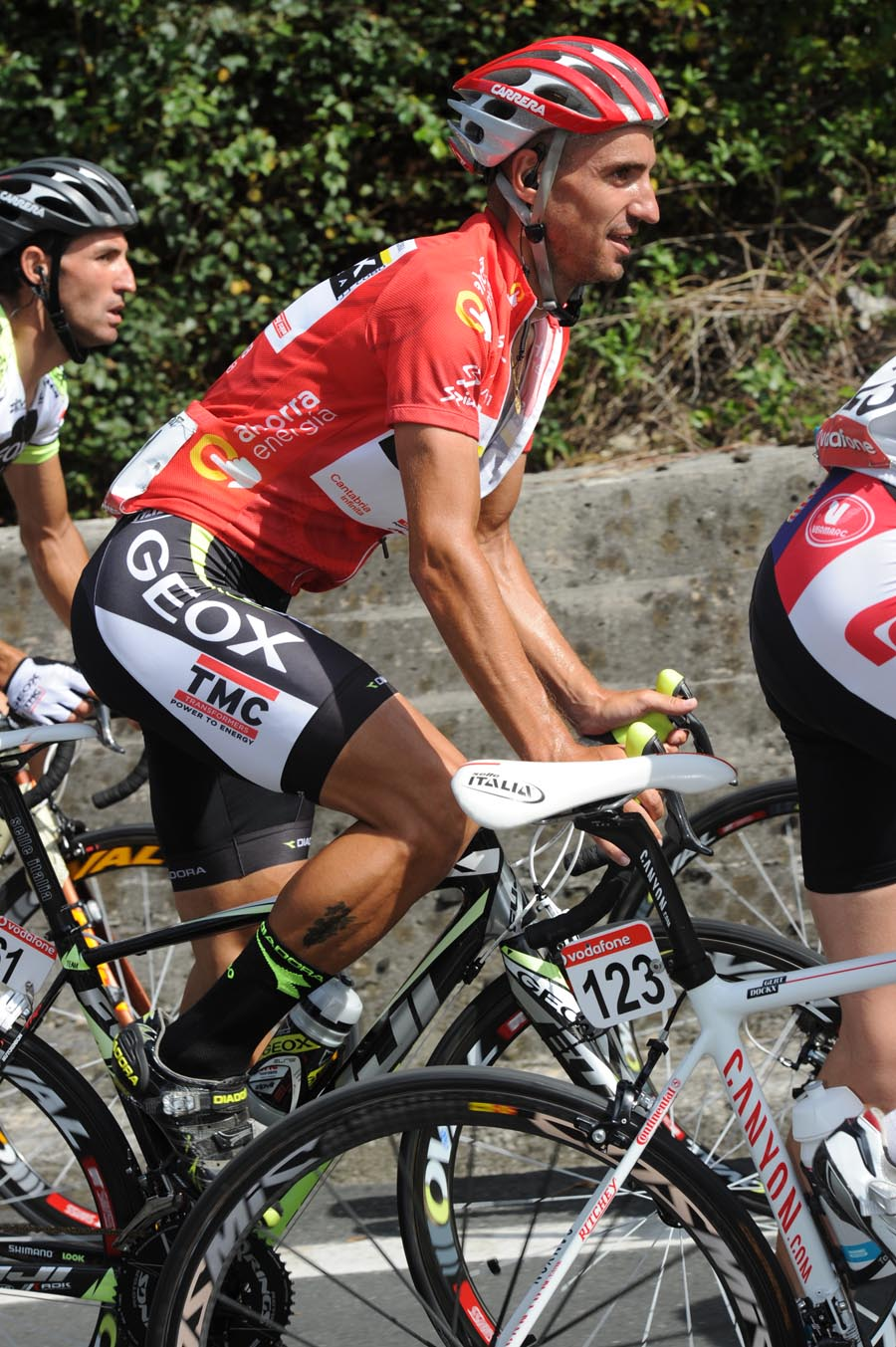 Juan Jose Cobo, Vuelta a Espana 2011, stage 20