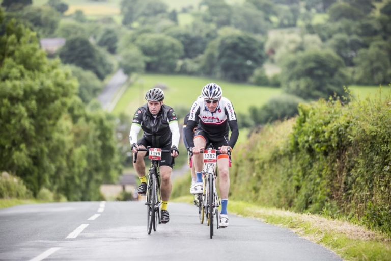 sportive hill spring