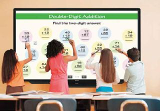 FROM PASSIVE TO ACTIVE: CREATIVE DISPLAYS IN THE CLASSROOM