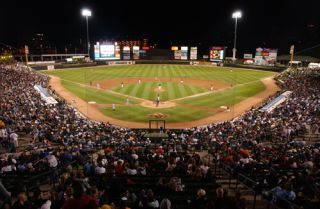 Daktronics LED for Rochester Red Wings