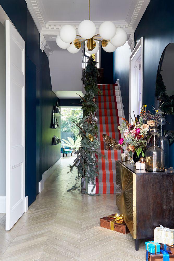 Explore this wonderfully festive Victorian villa in north London