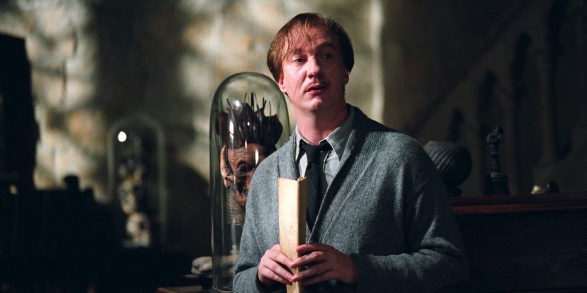 David Thewlis as Lupin in Harry Potter
