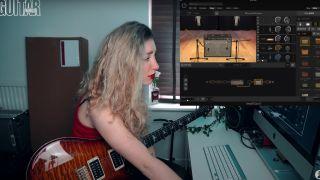 Sophie Burrell demos AmpliTube 5