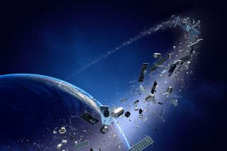 Space junk is making low Earth orbit crowded.