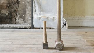 sledgehammers for removing a chimney breast