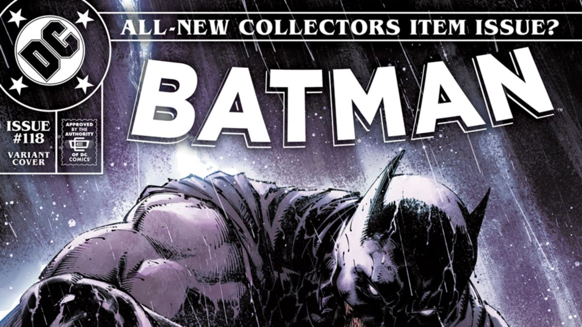 Playful Batman #118 variant pays homage to an iconic Spider-Man cover by Todd McFarlane