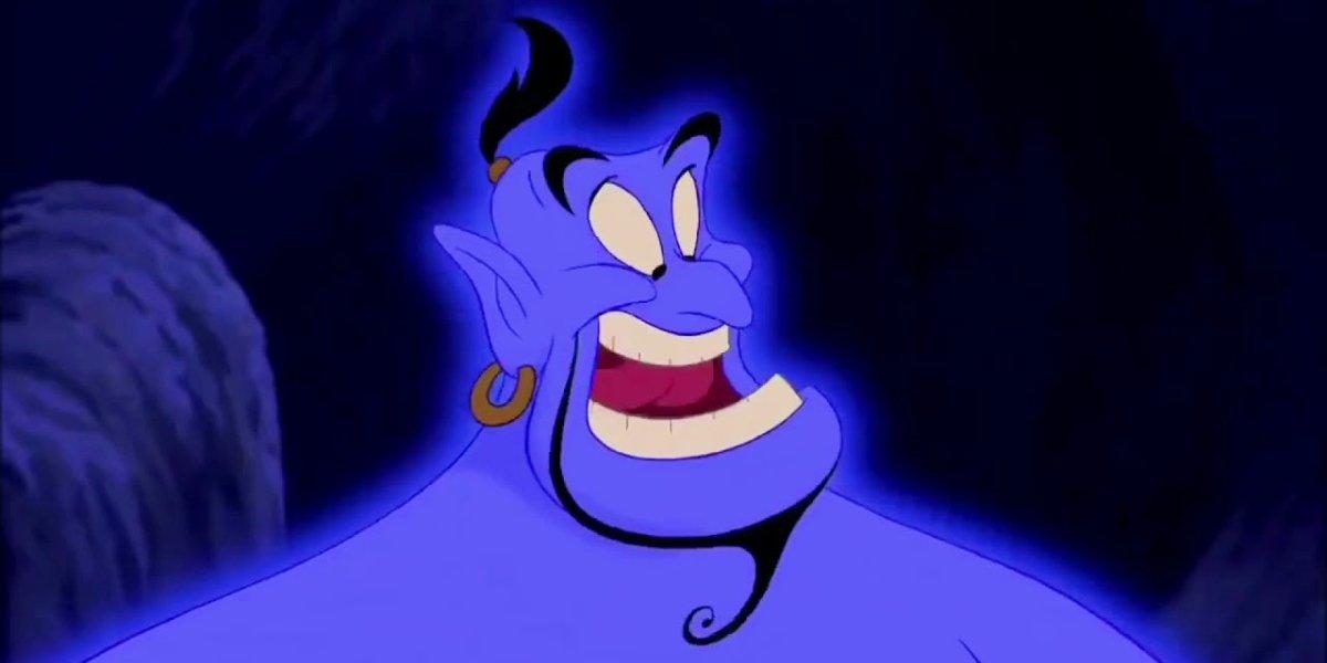Robin Williams as Genie in Aladdin (1992)