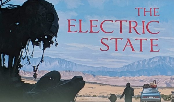 The Electric State title card