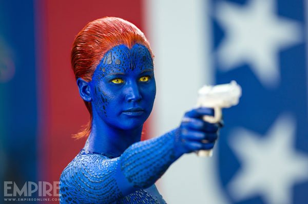 Mystique Jennifer Lawrence X-Men Days of Future Past