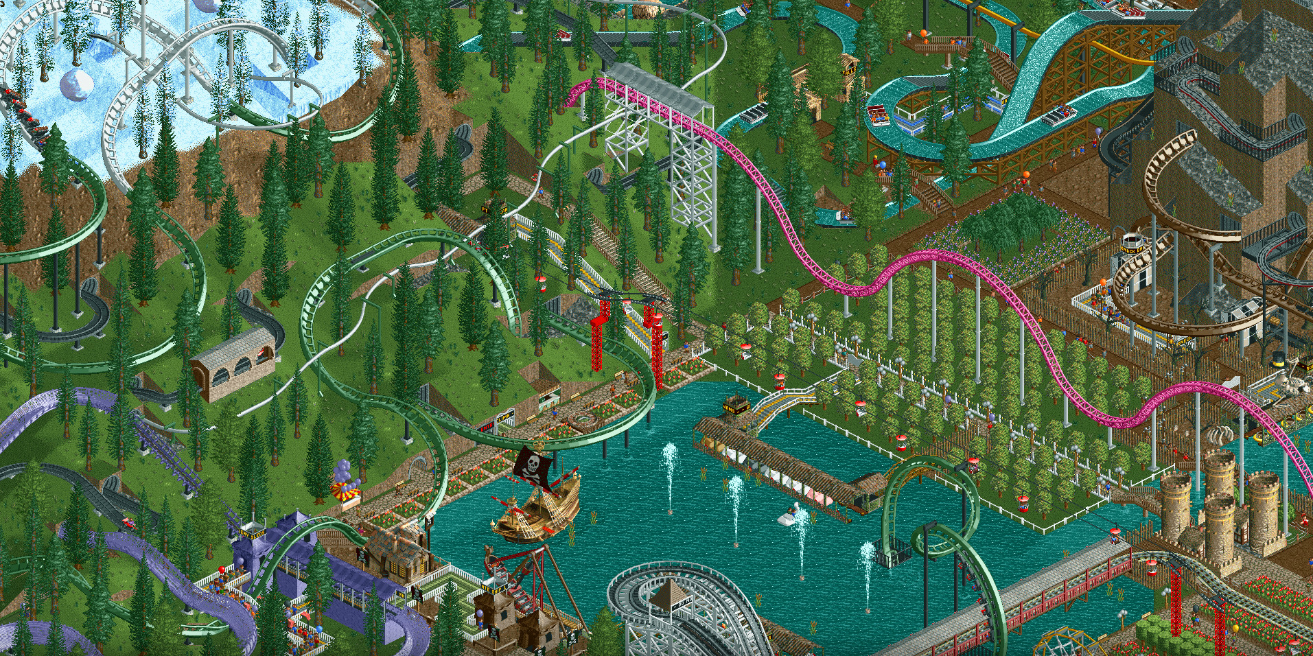 RollerCoaster Tycoon Classic rides onto Steam tomorrow   PC Gamer