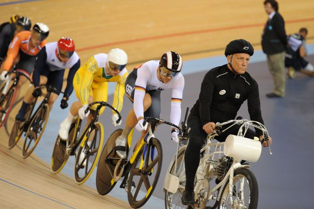 Keirin, London 2012 Olympic Games, track day six