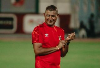 Al Ahly assistant coach Cavin Johnson