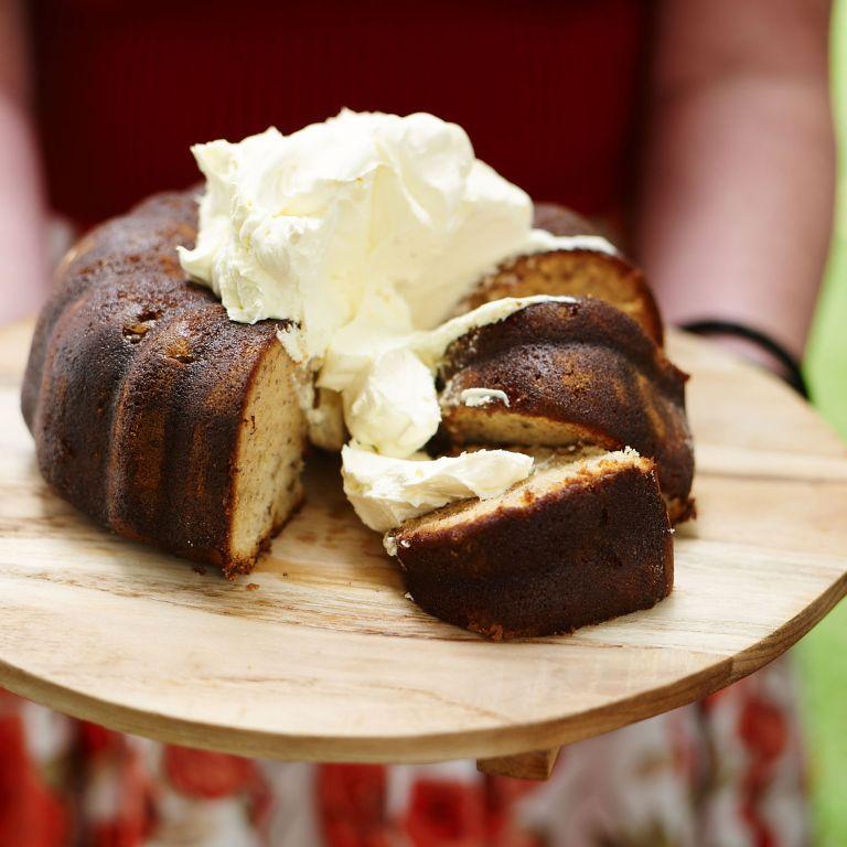 Boozy Banana Cake photo
