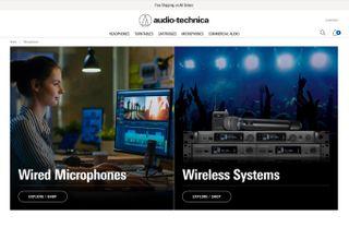 Audio-Technica New Website