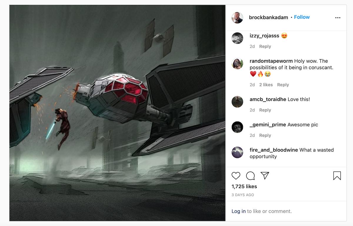 Star Wars concept art