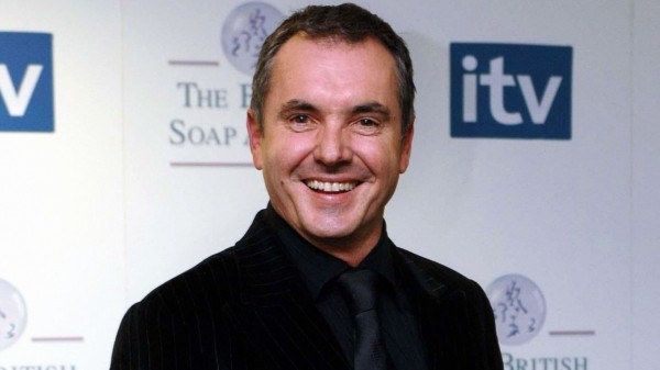 A picture of Alan Fletcher at a soap awards ceremony