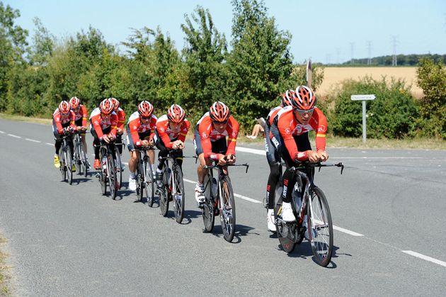 Radioshack, Tour de France 2011, team time trial training