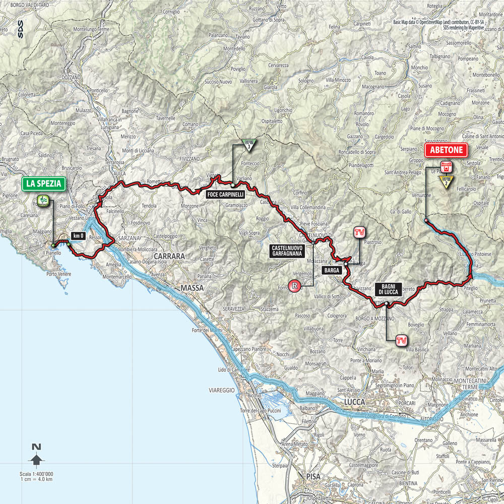 Giro d'Italia 2015 stage 5 preview