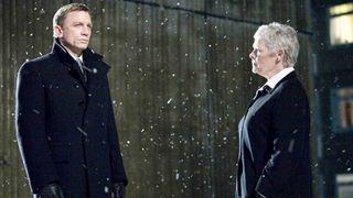 Daniel Craig and Judi Dench in Quantum of Solace
