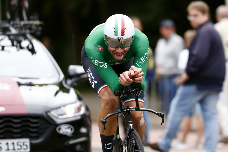 Filippo Ganna takes BinckBank Tour time trial victory as Tim Wellens retains overall lead