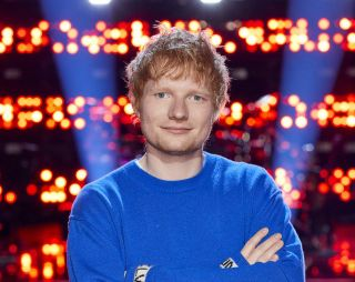 Ed Sheeran on NBC's 'The Voice'