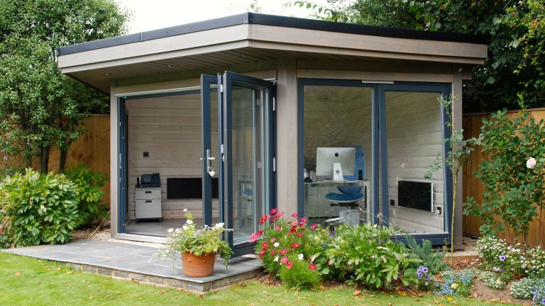 modular garden office room