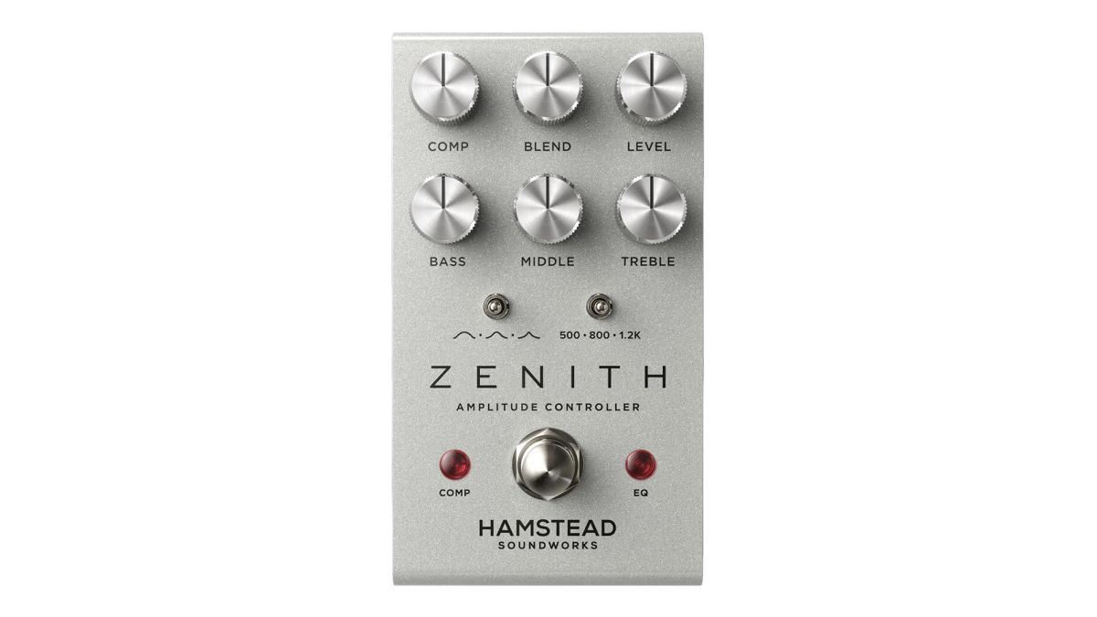 Hamstead Soundworks offers up an all-in-one tone-shaping solution with the Zenith EQ, compressor and boost pedal