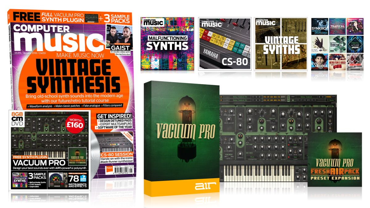 Computer Music 251 – VINTAGE SYNTHESIS – our new issue is out now