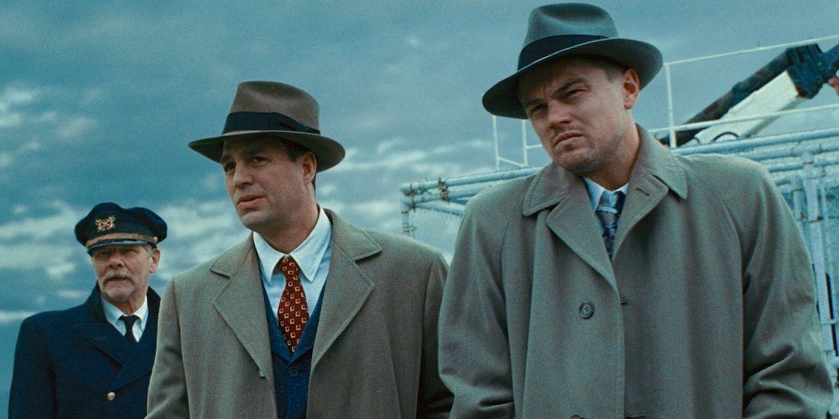 Leonardo DiCaprio and Mark Ruffalo in Shutter Island.