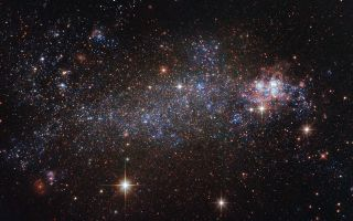 Rebel Without A Configuration: A Beautiful, Messy Galaxy