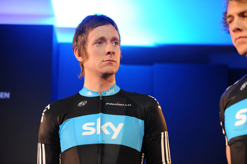 Bradley Wiggins, Team Sky 2010 launch