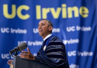 President Obama UC Irvine Commencement