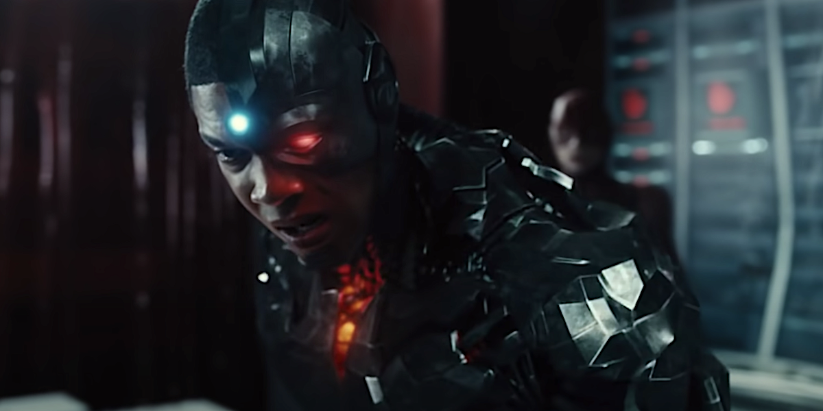 Cyborg and Flash in Justice League