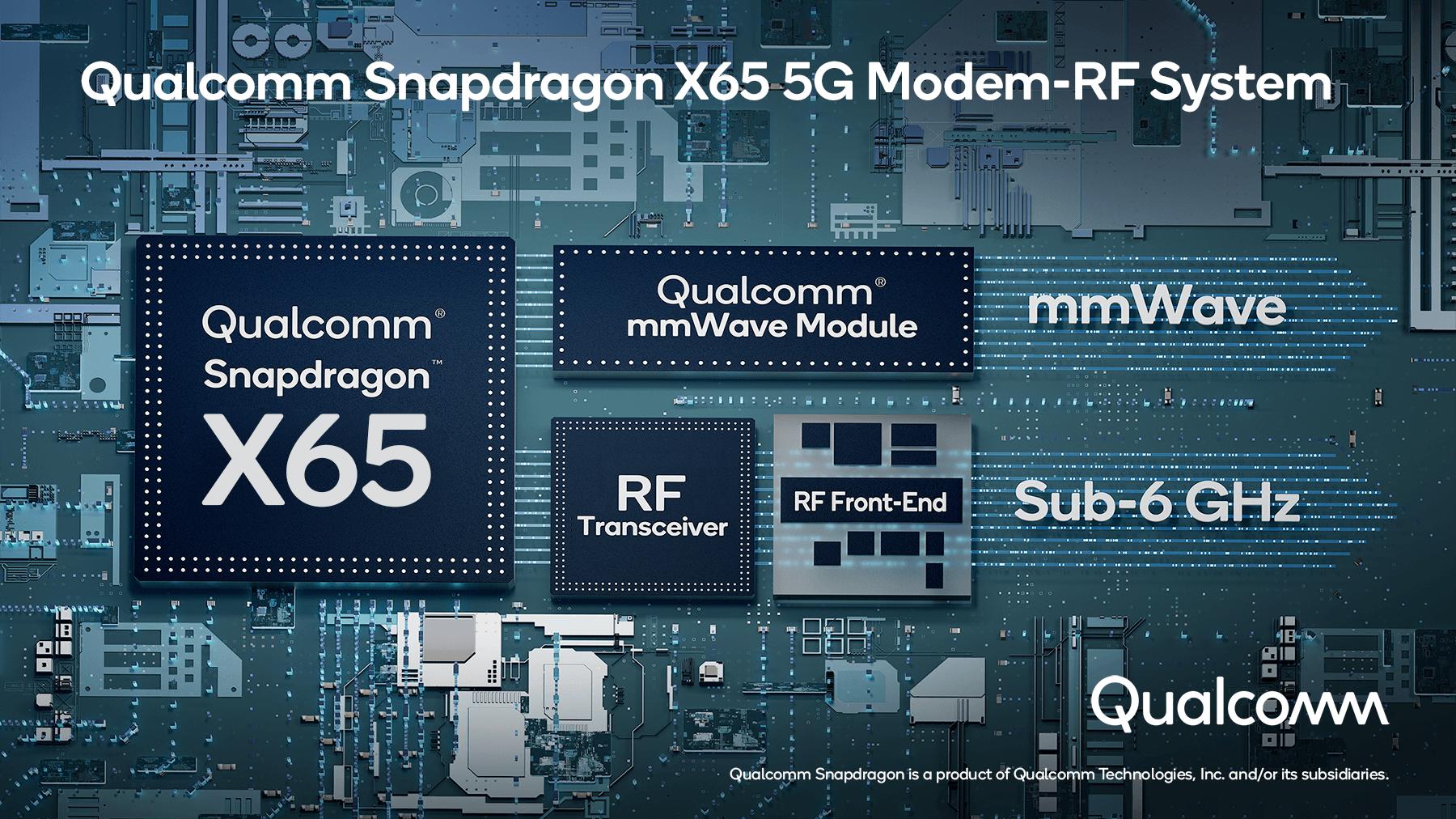 Qualcomm announces world's first 10 Gigabit 5G modem thumbnail