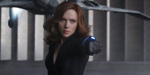 Black Widow in Civil War