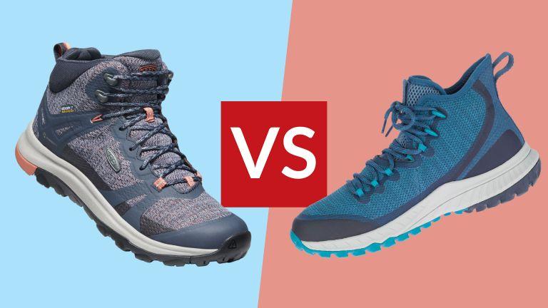 Keen Terradora II Mid waterproof vs Merrell Bravada Mid waterproof women's hiking boots