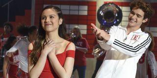 Olivia Rodrigo and Joshua Bassett in High School Musical series