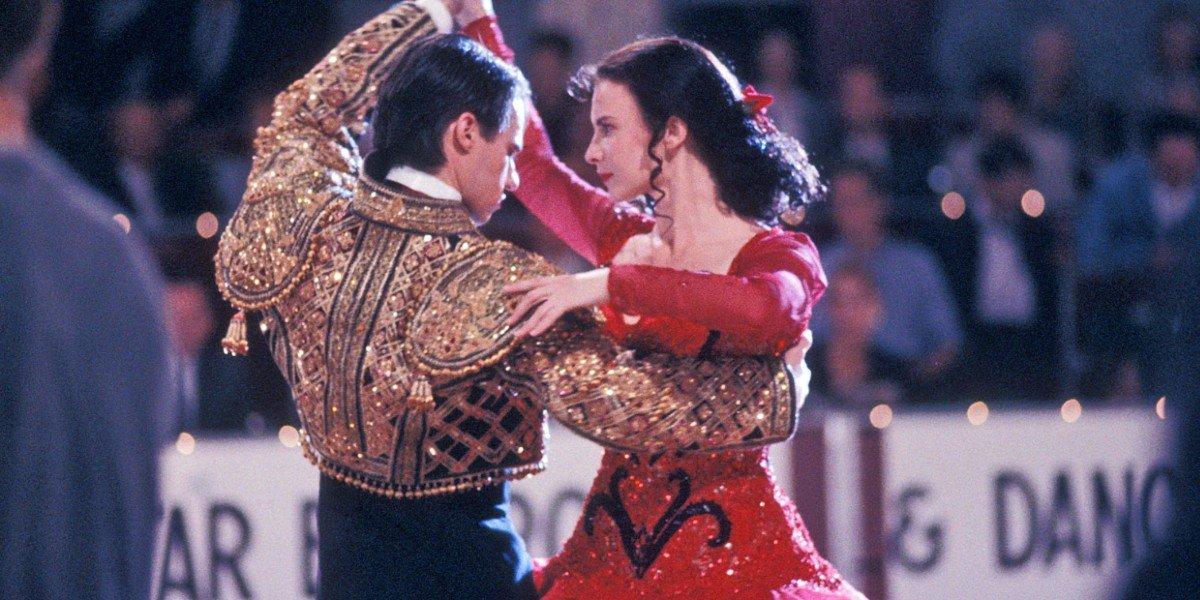 Paul Mercurio and Tara Morice in Strictly Ballroom
