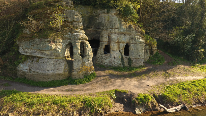 Archaeologists have found the lair of an exiled Anglo-Saxon hermit king