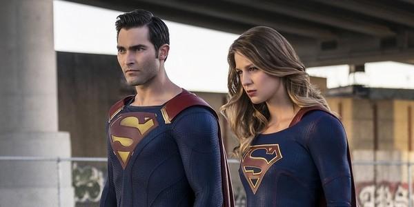 supergirl superman tyler hoechlin melissa benoist