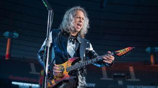 Kirk Hammett Live